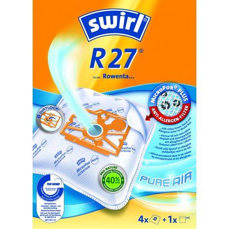 Swirl Staubsaugerbeutel R27 / R 27 MicroPor für Rowenta Staubsauger Dymbo