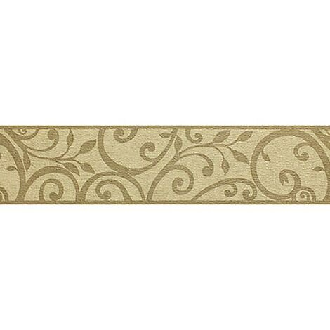 Swirl Wallpaper Border Holden Decor Mocha Beige Cream Textured