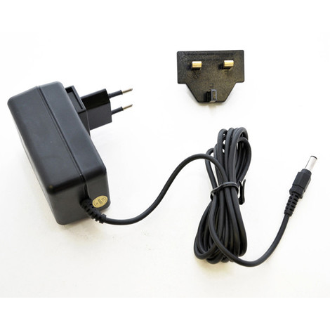 Switching power supply 100 - 240V/12V 10W 0.8A with EU and UK plugs