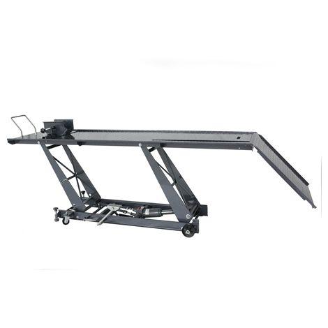 SwitZer 1000lb Hydraulic Bike Lift Bench Medium Grey