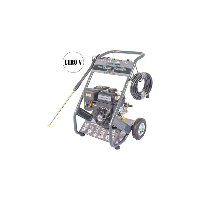 Image of KMS - SwitZer 3000PSI 6.5HP Petrol Power Pressure Jet Washer