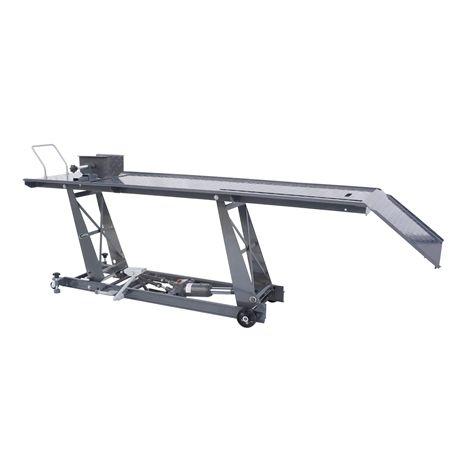 SwitZer 800lb Hydraulic Bike Lift Bench Grey