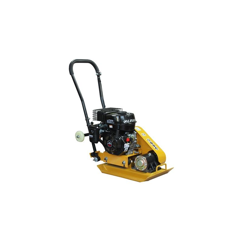 Image of KMS - SwitZer Heavy Duty Petrol Engine Compactor Plate HS-60 Cast Activator with Wheels