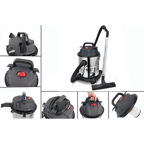 SwitZer Industrial Vacuum Cleaner 20L 1200W VC01 Grey