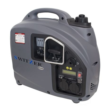 SwitZer Inverter Generator 2000I Grey