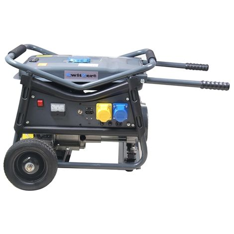 SwitZer Petrol Generator 2.8KW With Wheel SZ-LT3600V Grey