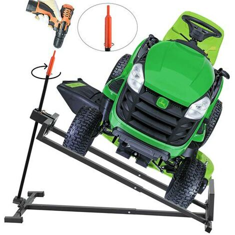 SwitZer Ride On Lawn Mower Lift 400kg SZ-LML01 Grey