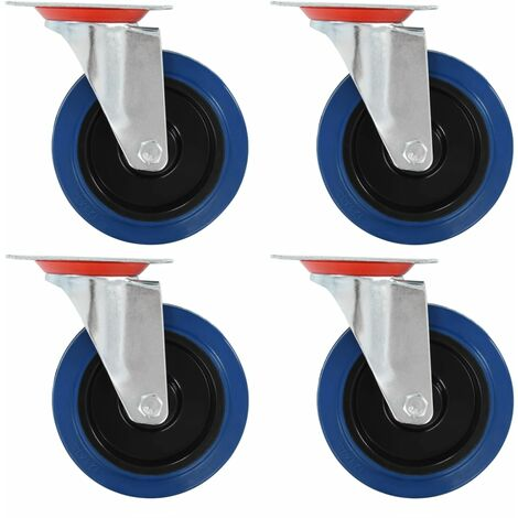Swivel Casters 4 pcs 125 mm