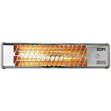 Swivel heater EDM - for bathroom - 1200W - 53x13,5x6cm - 07108