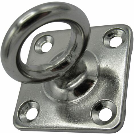 Swivel Marine Eye Plate Stainless Steel 6MM (Rope Wire Chain Decking Attachment)