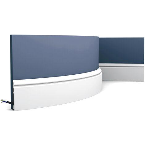 SX173F Flexible CONTOUR plinthe Duropolymer Orac Decor - 10 x1,6x200cm (h x p x l) - plinthe - rigideouflexible : flexible - conditionnement : A l'unité