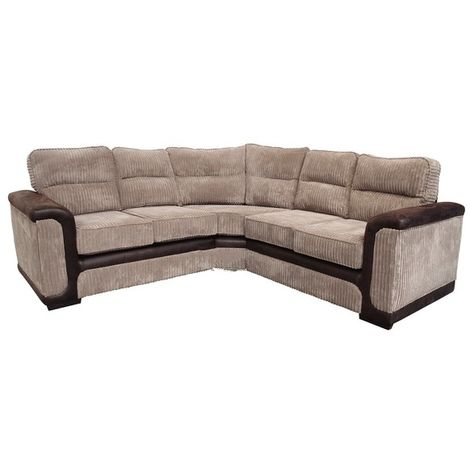 Sydney Fabric Corner Sofa Unit 2 Seater + Corner + 2 Seater