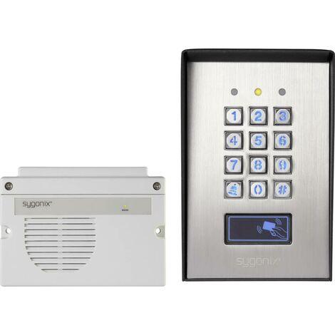 Sygonix 1582020 Codeschloss Oberflächenmontage IP66 mit beleuchteter Tastatur, mit separater Auswer S653001