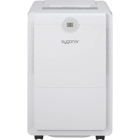 Sygonix Déshumidificateur 44 m² 410 W 0.96 l/h blanc