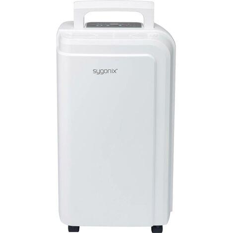 Sygonix Déshumidificateur et régulateur dhumidité 15 m² 220 W blanc