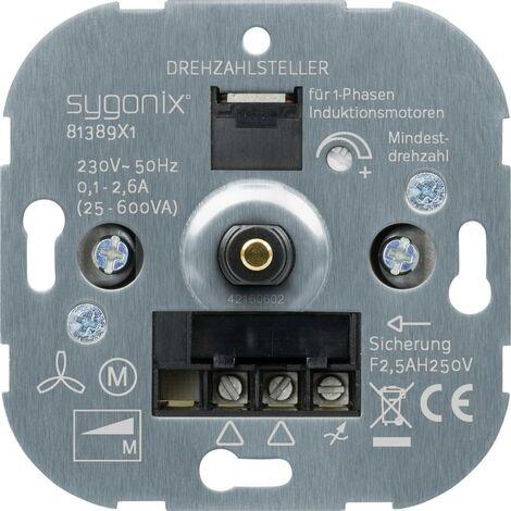 Sygonix Frutto Regolatore di velocità SX 11 81389X1