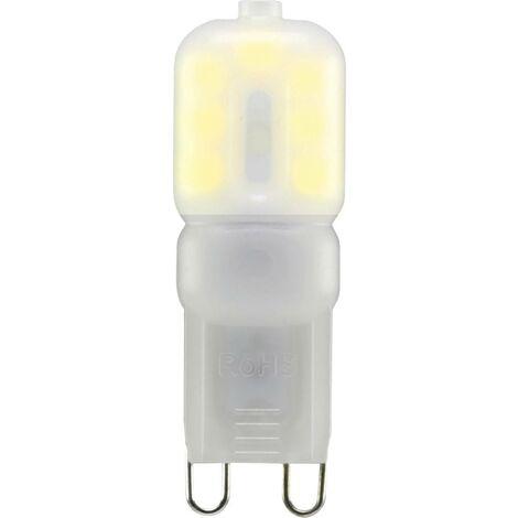 Sygonix LED EEK A+ (A++ - E) G9 Stiftsockel 2.5W = 20W Warmweiß (Ø x L) 16mm x 48mm 1St. W580601
