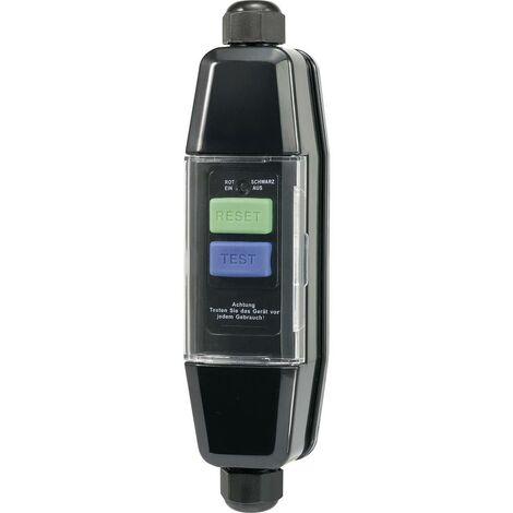 Sygonix SY-3530658 Connecteur intermédiaire - protection des personnes avec PRCD 230 V/AC noir IP55