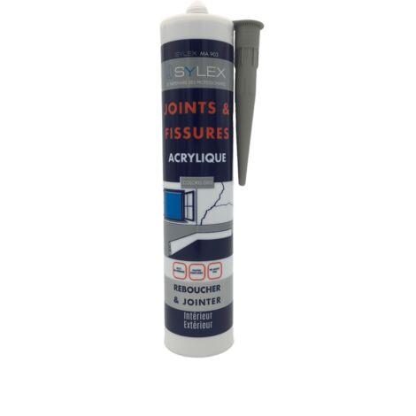 Sylex MA 903 Mastic Joints et Fissures 280ml Gris   Couleur: Gris