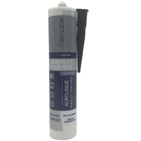 Sylex MA 904 Noir Mastic Joints et Fissures 280ml | Couleur: Noir