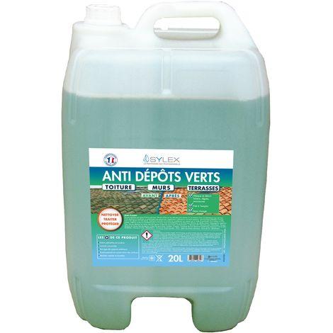 Sylex Nettoyant anti dépôts verts 20L