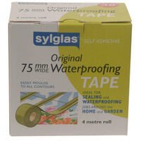 Sylglas SYL75 Original Waterproofing Tape 75mm x 4m