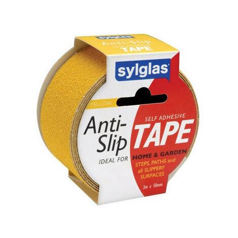 Sylglas SYLANTISLIPYEL Anti Slip Tape Yellow 50mm x 3m