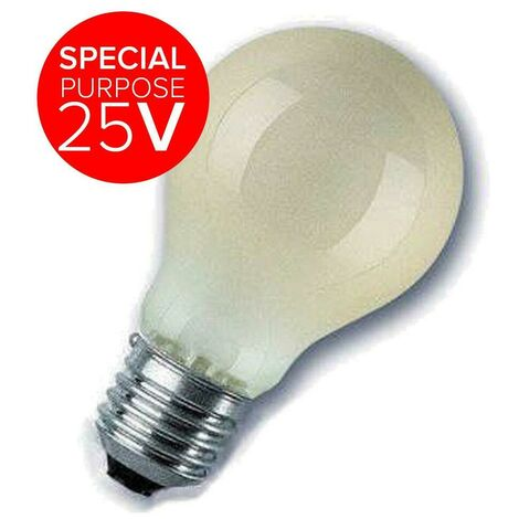Sylvania 60W GLS E27 25V Dimmable Warm White Pearl