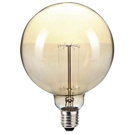 SYLVANIA - Ampoule incandescence vintage globe 60W E27 D:120mm