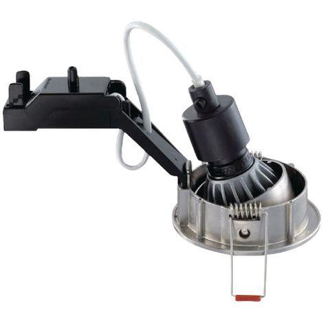 Sylvania Pack de 3 focos blancos con lámpara LED reemplazable, base GU10, clase energética A, regulable
