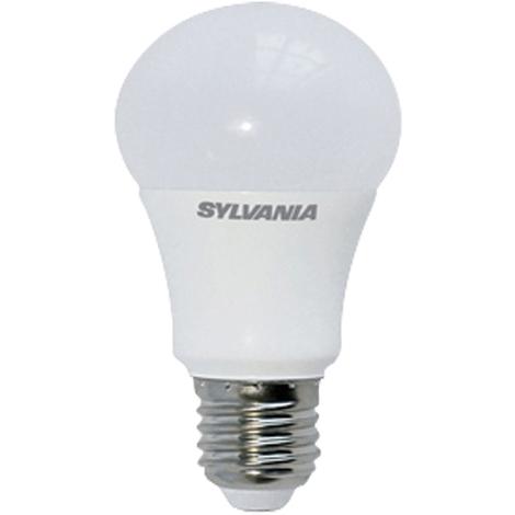 Sylvania ToLEDo Lampara LED Estandar con forma de balón de 8,5W, 806lm, casquillo E27