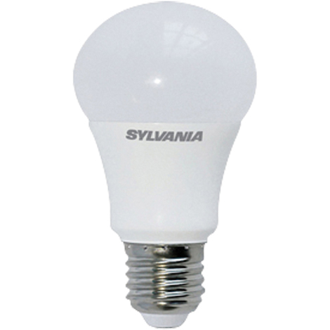 Sylvania ToLEDo Lampara LED Estandar de 6,5W, 470 lm, casquillo E27, clase energética A+