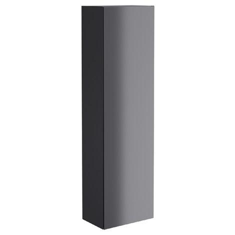Synergy Berg 400mm Wall Hung Pillar Cabinet - Grey