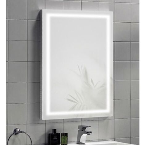Synergy Modena Mirror With IR Switch LED Clock & Demister