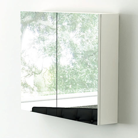 Synergy Nordic 800mm Mirror Cabinet