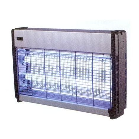 Syntesy Lampada Cattura Insetti Slim W.12 - 04900