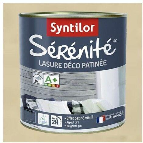 SYNTILOR Lasure Sérénité Crème - 0,5 L