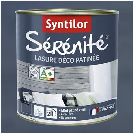 SYNTILOR Lasure Sérénité Denim - 0,5 L