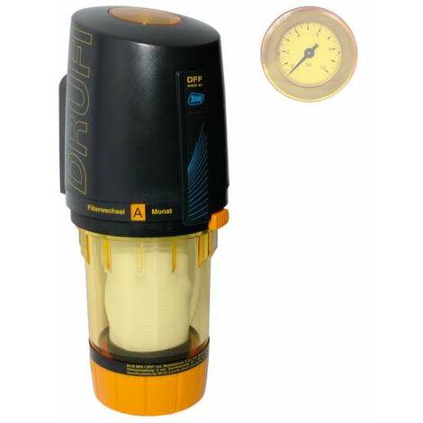 SYR Drufi DFF Kerzenfilter mit Druckminderer und Manometer 231500082 Filter