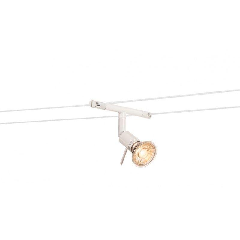 syros spot pour câble tendu mr16 blanc  blanc  blanc