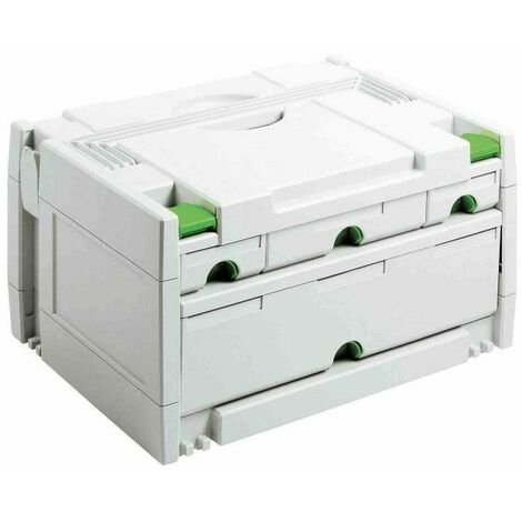Systainer SYS 3-SORT/4 FESTOOL - 4 tiroirs - 491522