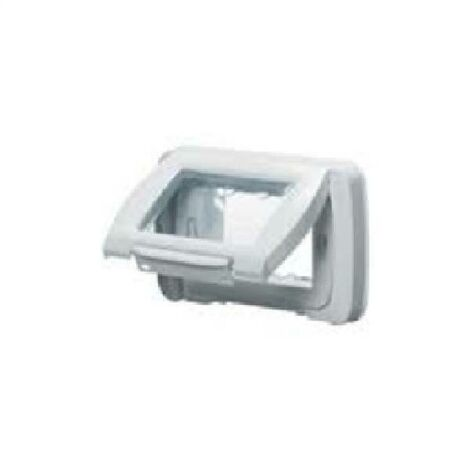 SYSTEM PLACCA STAGNA AUTOPORTANTE IP55 3P COLORE BIANCO NUVOLA GW22451