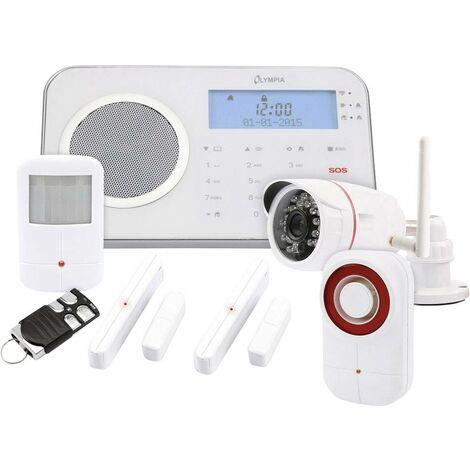 Système d'alarme GSM sans fil Olympia Prohome 8791 avec fonction Smart Home S052591