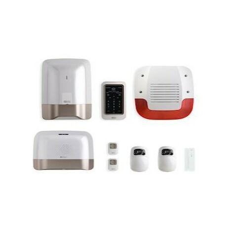 Système d'alarme Pack Tyxal + Full Vidéo - Sans fil - Connecté