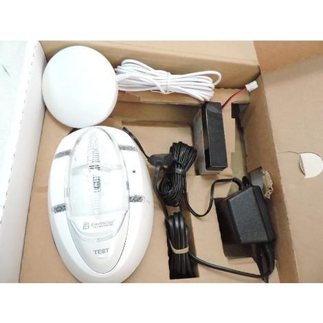Système d'alarme pour sourds et malentendants avec coussin vibrant et flash stroboscopique WIFI EI ELECTRONICS EI170RF-FR