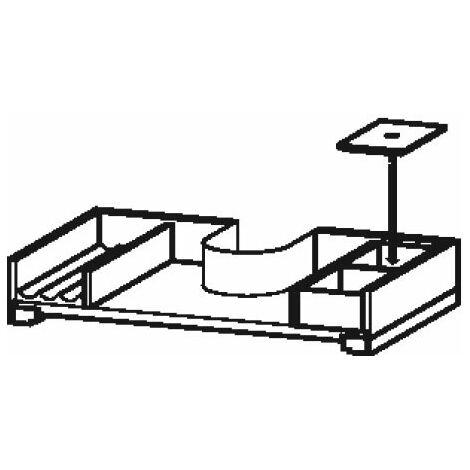 """main image of """"Système d'ameublement Duravit, adapté à une largeur d'armoire de 720 mm, avec découpe pour siphon, pour tiroirs, Couleur (avant/corps): érable massif - UV986707878"""""""