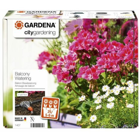 Système darrosage pour balcon GARDENA 1407-20