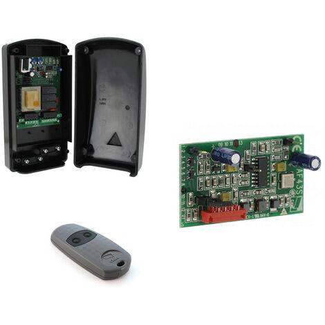 Système de contrôle complet 230 V CA avec dispositif radio 433,92 MHz pour volets roulants CAME - 8K09QA-001 - ex TRA04