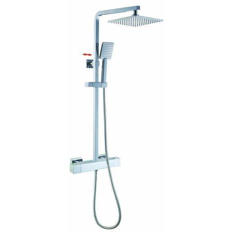 Système de douche Square avec douche de tête et douchette