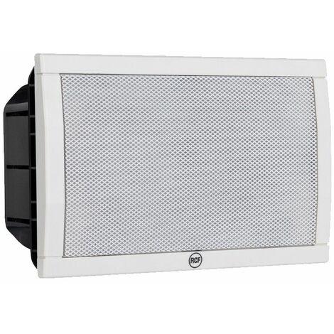 Système de haut-parleur RCF applique murale encastrable 6W BLANC 13110071 ELISA 50